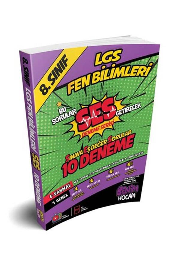 Benim Hocam Yayınları LGS 8.Sınıf SES Getirecek Fen Bilimleri 10 Deneme