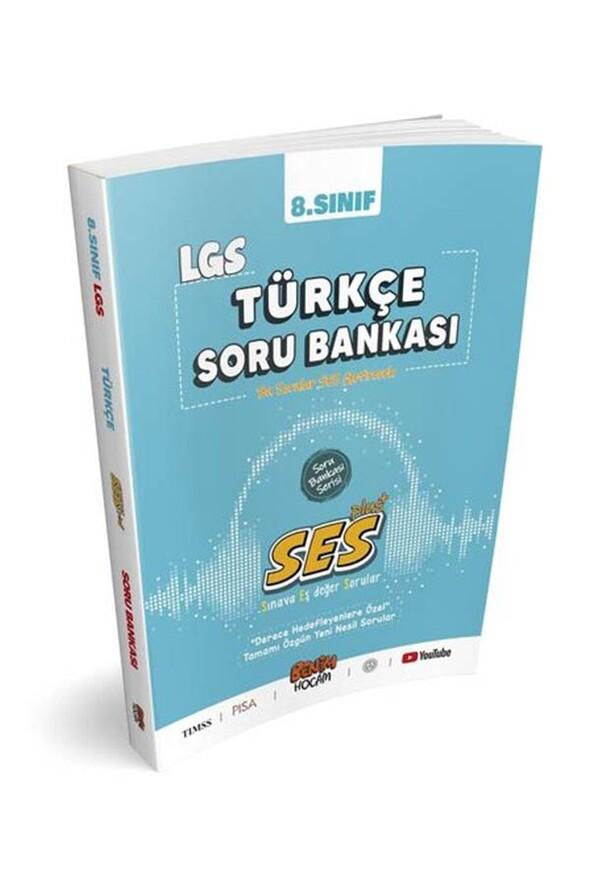 Benim Hocam Yayınları LGS 8.Sınıf SES Serisi Türkçe Soru Bankası
