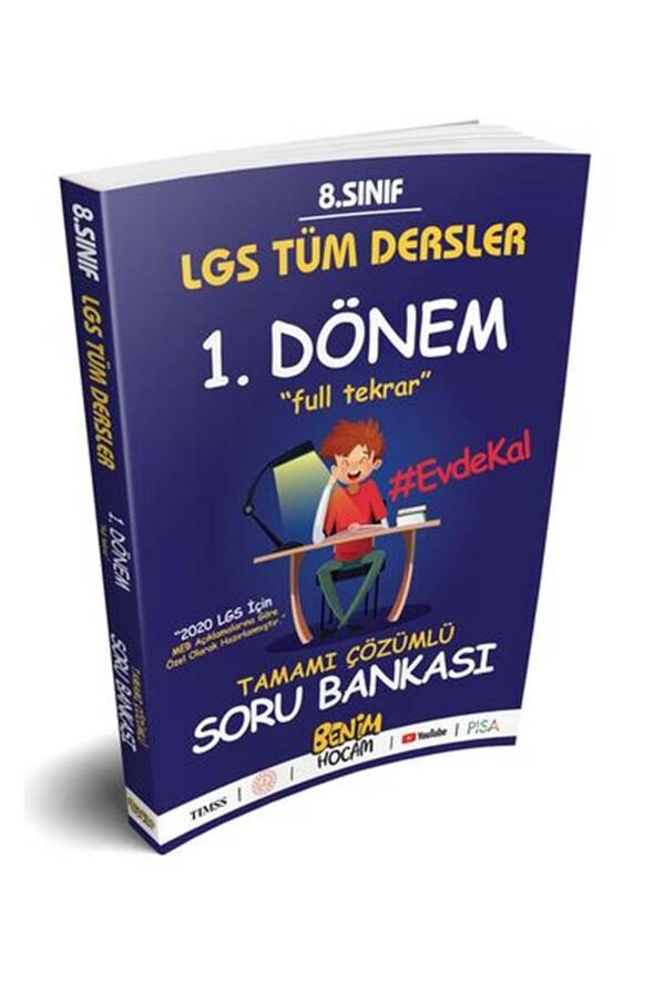 Benim Hocam Yayınları LGS 8.Sınıf Tüm Dersler 1.Dönem Full Tekrar Soru Bankası