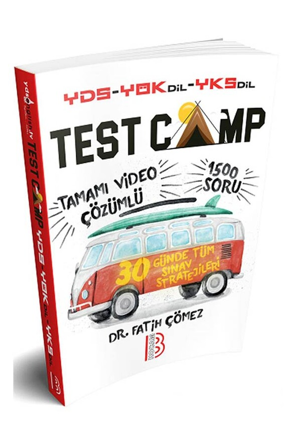 Benim Hocam Yayınları YDS YÖKDİL YKSDİL TEST CAMP Soru Kitabı