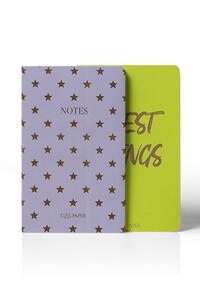 Yediveren Yayınları - Best Things Neon Not Defteri - 2 Adet