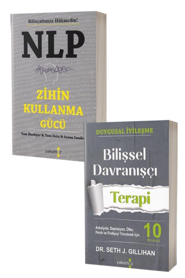 Bilişsel Davranışçı Terapi ve NLP Zihin Kullanma Gücü - 2 Kitap