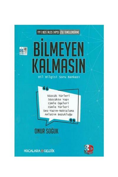Bilmeyen Kalmasın Dil Bilgisi Soru Bankası - Çözüm Yayınları