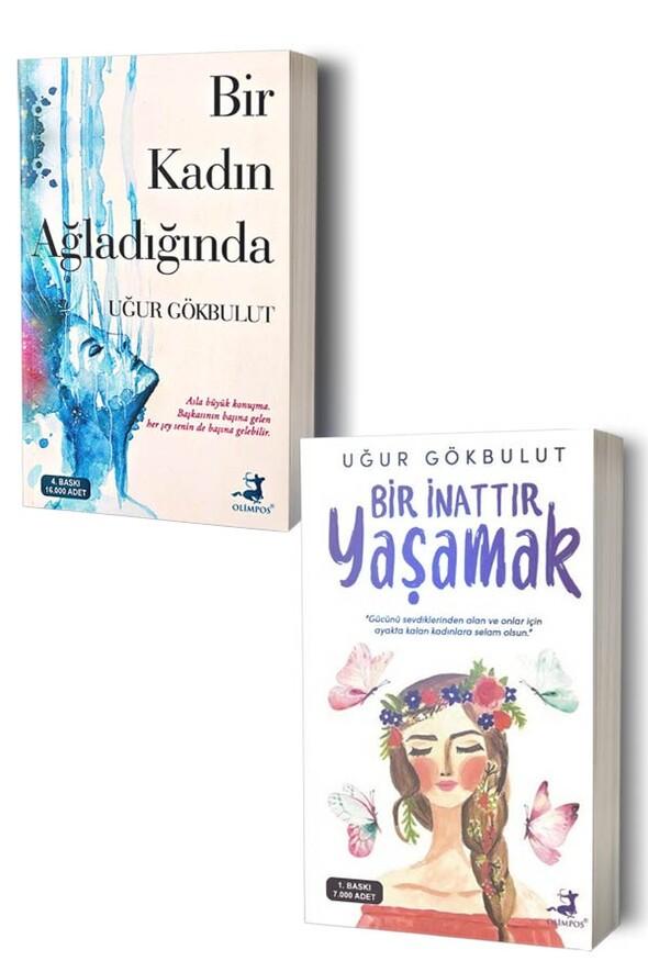 Bir Kadın Ağladığında ve Bir İnattır Yaşamak - 2 Kitap
