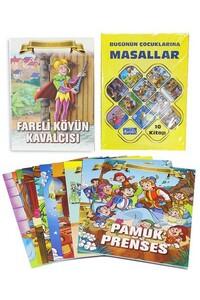Parıltı Yayınları - Bugünün Çocuklarına Masallar Dev Boy - Parıltı Yayıncılık