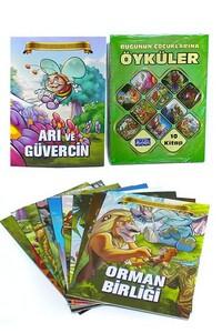 Parıltı Yayınları - Bugünün Çocuklarına Öyküler Dev Boy - Parıltı Yayıncılık