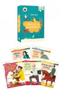 Erdem Çocuk Yayınları - Çanakkalenin Kahramanları 5 Kitap - Erdem Çocuk Yayınları