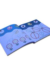 Çiz, Boya, Yapıştır Seti - 4 Kitap - Thumbnail