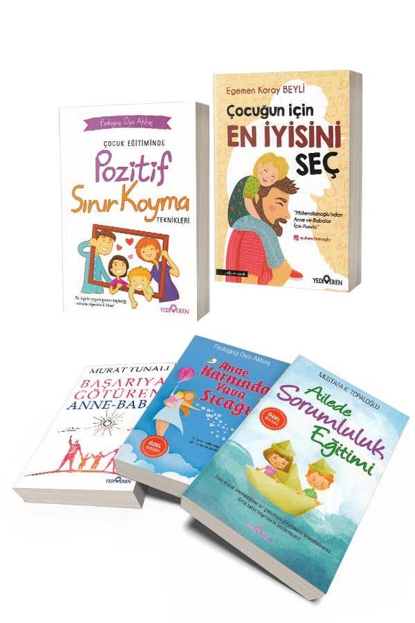 Çocuk Eğitimi Seti 5 Kitap - Yediveren Yayınları