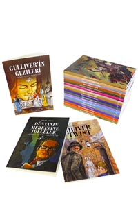 Çocuk Klasikleri Okuma Seti - 20 Kitap - Thumbnail