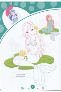 Çocuklar İçin Boyama Kitabı Seti - 10 Adet - Thumbnail