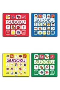 Teleskop Popüler Bilim - Çocuklar İçin Sudoku Seti - 4 Kitap