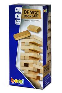 Bemi - Denge Blokları Eğlenceli Aile Oyunu - Bemi Toys