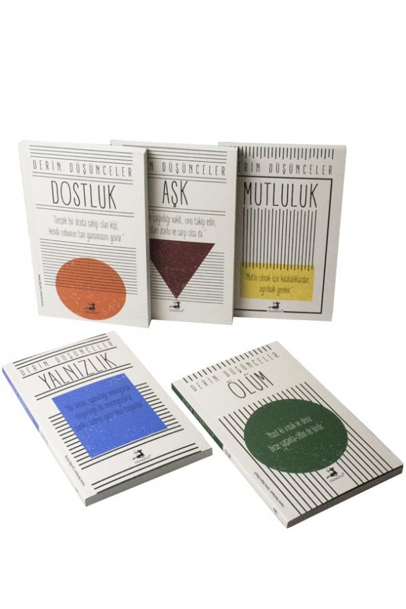 Derin Düşünceler Seti 5 Kitap - Olimpos Yayınları