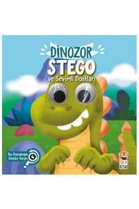 Sincap Kitap - Dinozor Stego ve Sevimli Dostları - Bu Kocaman Gözler Kimin? - Sincap Kitap