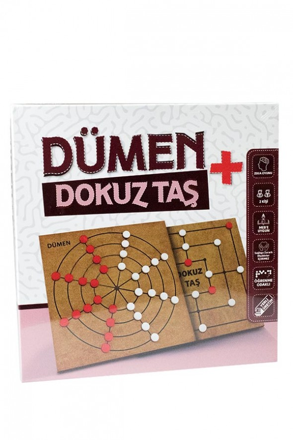Dümen + Dokuz Taş - Akılda Zeka Oyunları