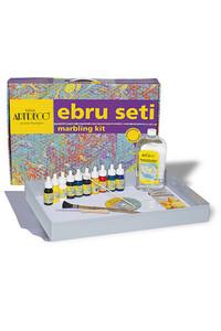 Artdeco - Ebru Başlangıç Seti 8 Renk - Artdeco