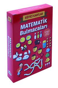 Eğitici Kartlar - Matematik Bulmacaları / Silinebilir Kalem Hediyeli - Thumbnail