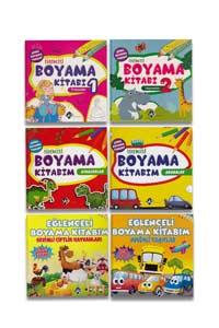 Eğlenceli Boyama Kitabım Seti 6 Kitap - Yo Yayıncılık - Thumbnail
