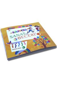 Parıltı Yayınları - Eğlenceli Sanat ve Beceri - Turuncu Kitap