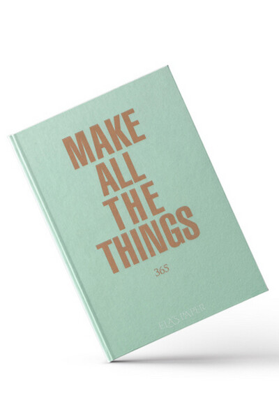 Ela's Paper - Make All The Things - Ajanda
