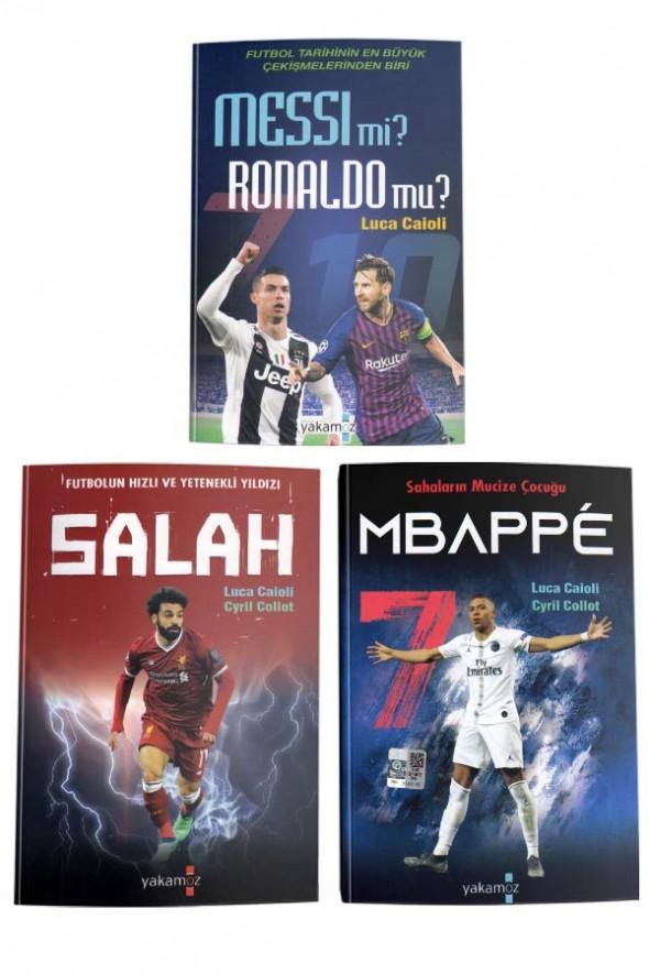 Futbolun Yetenekli Yıldızları - 3 Kitap