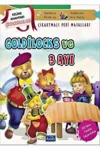Parıltı Yayınları - Goldilocks ve Üç Ayı Çıkartmalı Peri Masalları - Parıltı Yayınları