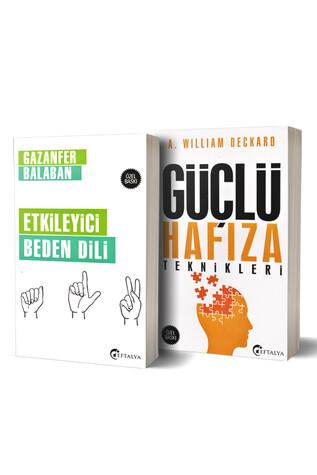 Yediveren Yayınları - Güçlü Hafıza Teknikleri ve Etkileyici Beden Dili - 2 Kitap