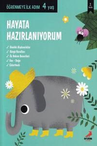 Erdem Çocuk Yayınları - Hayata Hazırlanıyorum Öğrenmeye İlk Adım 4 Yaş - Erdem Çocuk Yayınları
