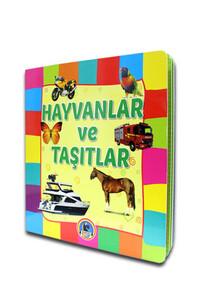 Karatay Yayınları - Hayvanlar ve Taşıtlar - Karton Kitap