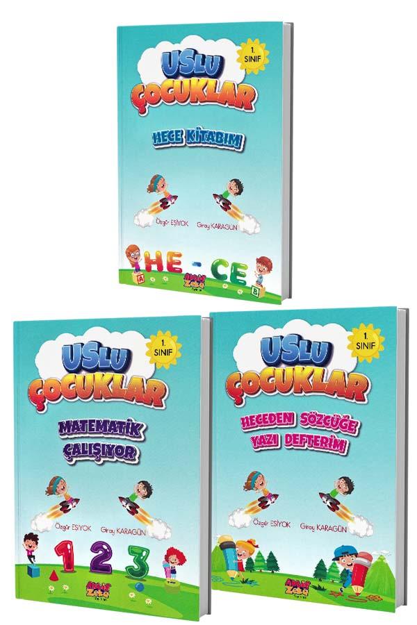Hece Kitabım Seti - Uslu Çocuklar - 3 Kitap