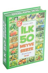 İlk 50 Meyve Sebze Flash Cards Diytoy - Thumbnail