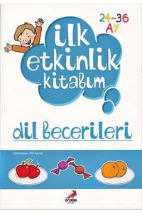 Erdem Çocuk Yayınları - İlk Etkinlik Kitabım - Dil Becerileri - Erdem Çocuk Yayınları