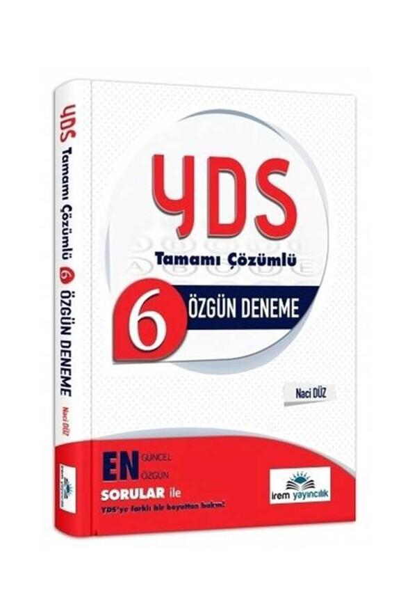 İrem YDS 6 Deneme Sınavı Çözümlü İrem Yayınları