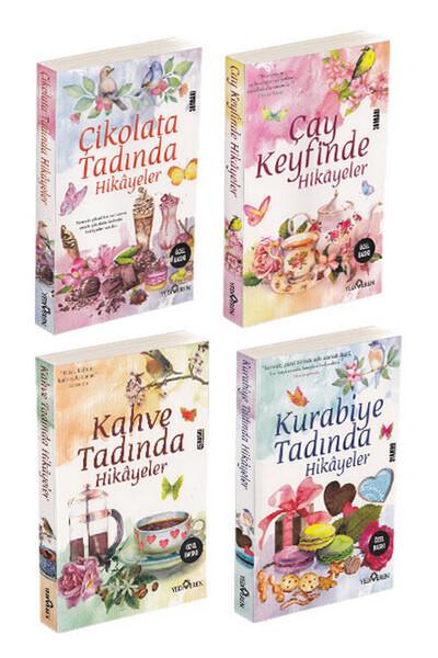 Kahve, Kurabiye, Çay ve Çikolata Tadında Hikayeler - 4 Kitap