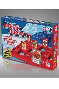 KS Games - Let Me Guess - Klasik Tahmin Etme Oyunu - Ks Games