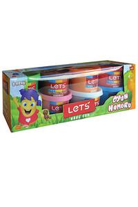Lets - Lets 8 Renk Oyun Hamuru - L8348