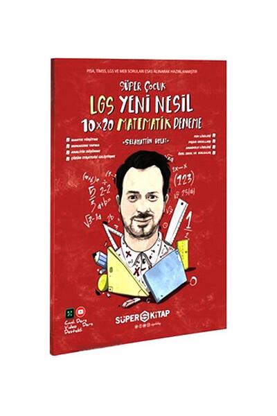 LGS Süper Çocuk Yeni Nesil Matematik Deneme - Süper Kitap
