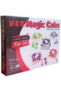 Hobi Eğitim Dünyası - Magic Cube - Görsel Beceri Küpleri - Hobi Eğitim Dünyası