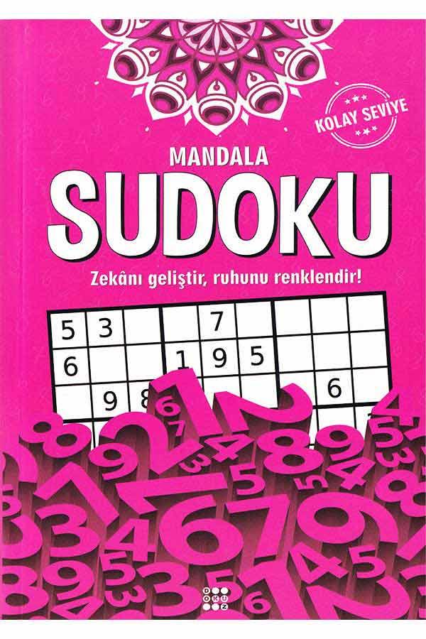 Mandala Sudoku Kolay Seviye - Dokuz Yayınları