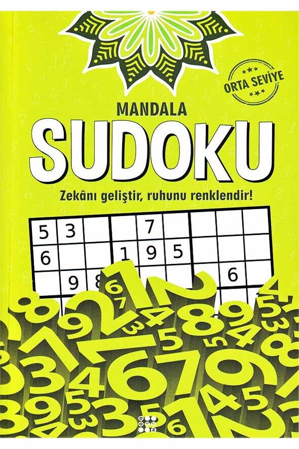 Mandala Sudoku Orta Seviye - Dokuz Yayınları