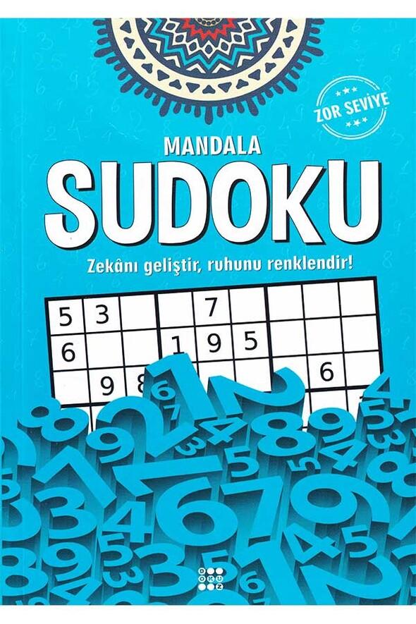 Mandala Sudoku Zor Seviye - Dokuz Yayınları