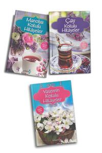 Yakamoz Yayınları - Manolya, Yasemin ve Çay Kokulu Hikayeler - 3 Adet Kokulu Kitap