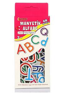 Diytoy - Manyetik Alfabe İngilizce - Türkçe Diytoy