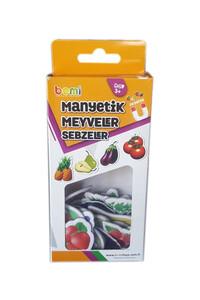 Bemi - Manyetik Meyveler ve Sebzeler - Bemi