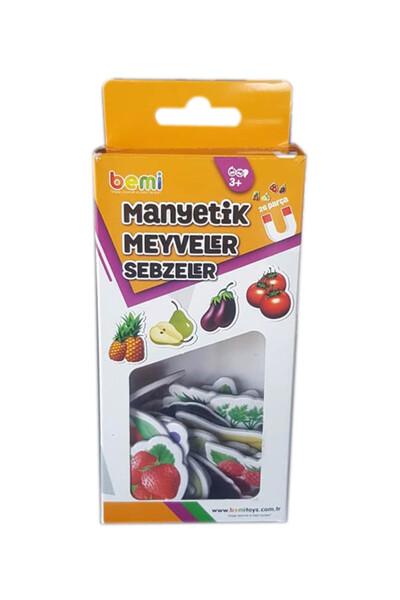 Manyetik Meyveler ve Sebzeler - Bemi