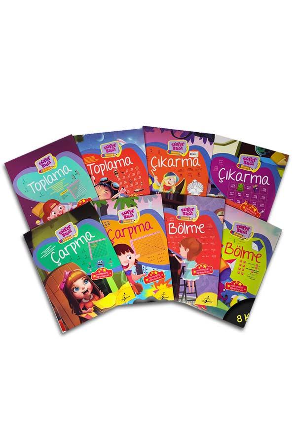 Matematik Öğreniyorum 8 Kitap 192 Sayfa