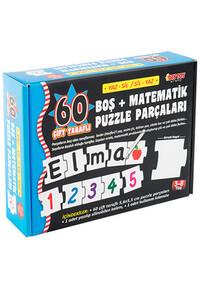 Matematik Puzzle Parçaları Diytoy - Thumbnail