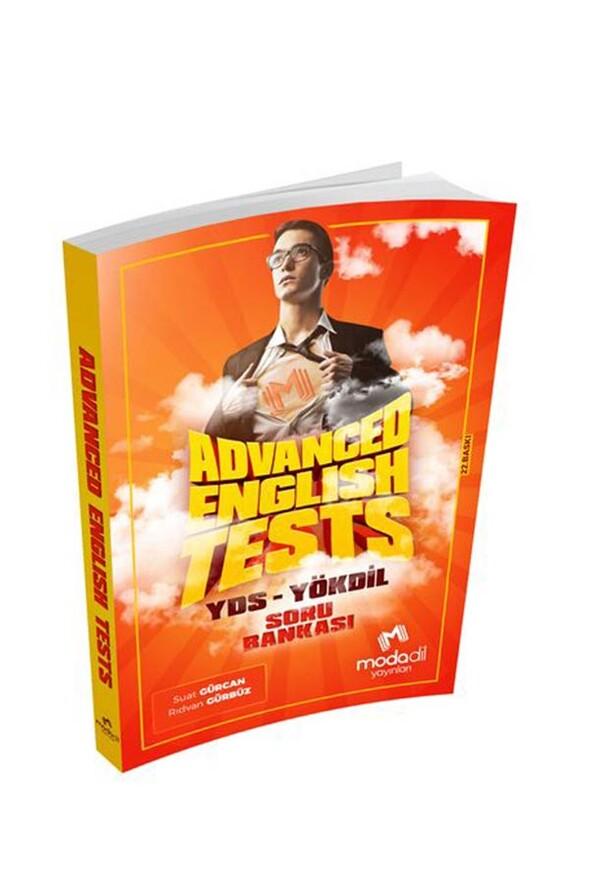 Modadil Yayınları Advanced English Tests YDS-YÖKDİL Soru Bankası
