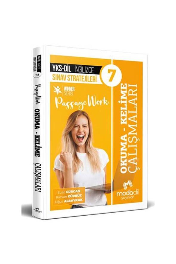 Modadil Yayınları YKS Dil İngilizce Sınav Stratejileri 7 Okuma Kelime Çalışmaları